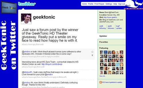 GeekTonic on Twitter