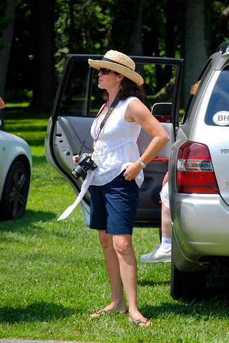 WASP Fashion: Bermuda Shorts and Boater Hat