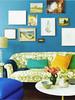 Вот классные фотки интерьеров в сине-голубых цветах (хоть и не все в морском стиле.