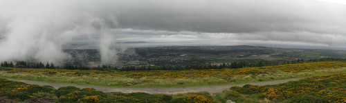 southeast Dublin Panorama from Tree Rock