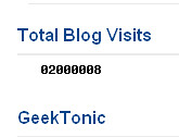 GeekTonic Over 2 Million Hits
