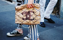 DIY Chanel paper bag photo by OutsaPop Trashion DIY fashion