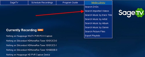 SageTV Edit Media Info 1
