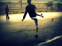 street soccer photo by Amr Hany