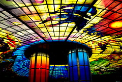 """The Dome of Light"" - Formosa Boulevard MRT Station in Kaohsiung Taiwan photo by Meow is Miao"