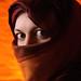 Portret met hoofddoek-4788 © Bart Plessers