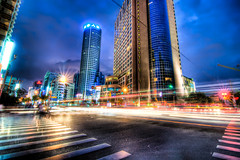 Streets of Shanghai photo by Shoeven