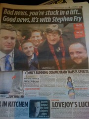 The Mirror's coverage of #frylift and more Twitter stuff all on page 3!