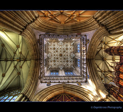 York Minster - Main Tower Ceiling photo by Osgoldcross Photography