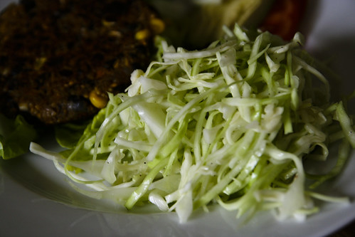 Lunch: Brant's Cabbage Slaw