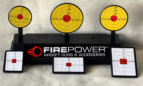 Firepower rest target w-both sets of targets
