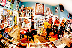Vivian Girls at Permanent Records photo by kirstiecat