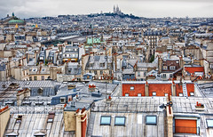 Paris Rooftops photo by Faddoush