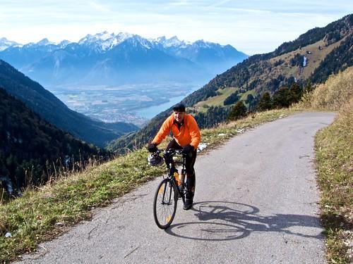 Road to Col de Chaude