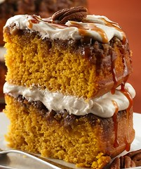 Praline Pumpkin Cake Recipe photo by Betty Crocker Recipes