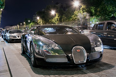 Bugatti Veyron and Mercedes SLR Mansory photo by Tex Mex (alexandre-besancon.com)