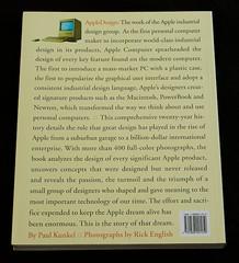 Apple Design Back Cover photo by brendan wilkinson