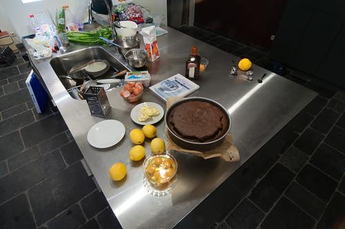 Taart uit de oven, ingrediënten voor lemon curd
