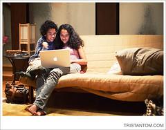 My niece and nephew with their new Macbook photo by *phototristan