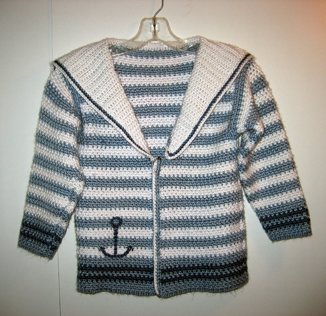 Crochet Pattern Central Dresses : TODDLER CROCHET SWEATER - Crochet ? Learn How to Crochet