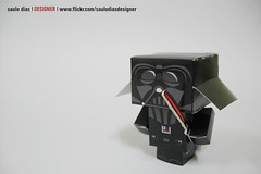 paper toy darth vader photo by saulo dias |designer|