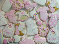 Baby Shower Cookies photo by Polka-dot Zebra