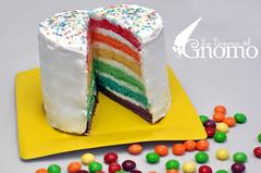 Rainbow Cake - Tarta arcoiris photo by La Despensa del Gnomo