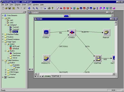 datastage 5 designer client
