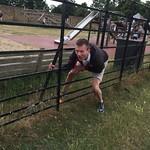 Uncle Nigel didn't fancy leaping over it<br/>12 Jul 2015