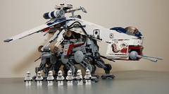 Star Wars Lego 10195 Republic Dropship with AT-OT photo by KatanaZ