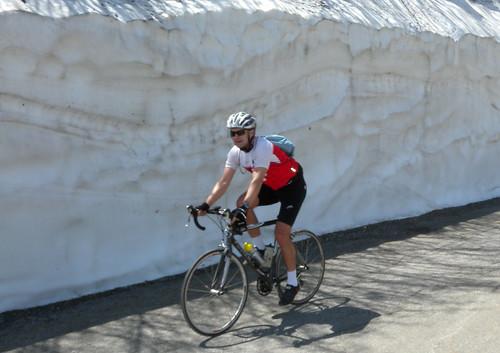 Snow Wall - Roselend