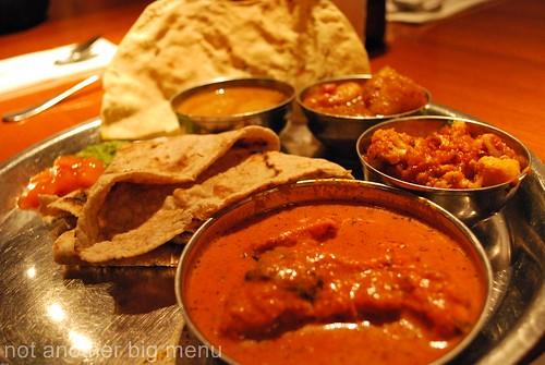 Dhaaba roghan josh Thali £10.45 - Masala Zone