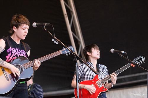 Tegan & Sara @ Southbound Festival 2009, Busselton