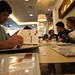 TTT 2009: Comiendo en el VIPs
