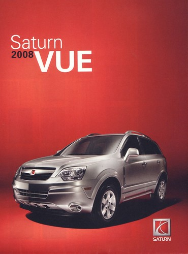 2008 Saturn VUE brochure