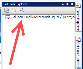 emptysolutionvisualstudio