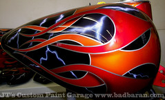 JT's Custom Paint Garage Mulit-Layer Flames Airbrushing photo by jtscustoms