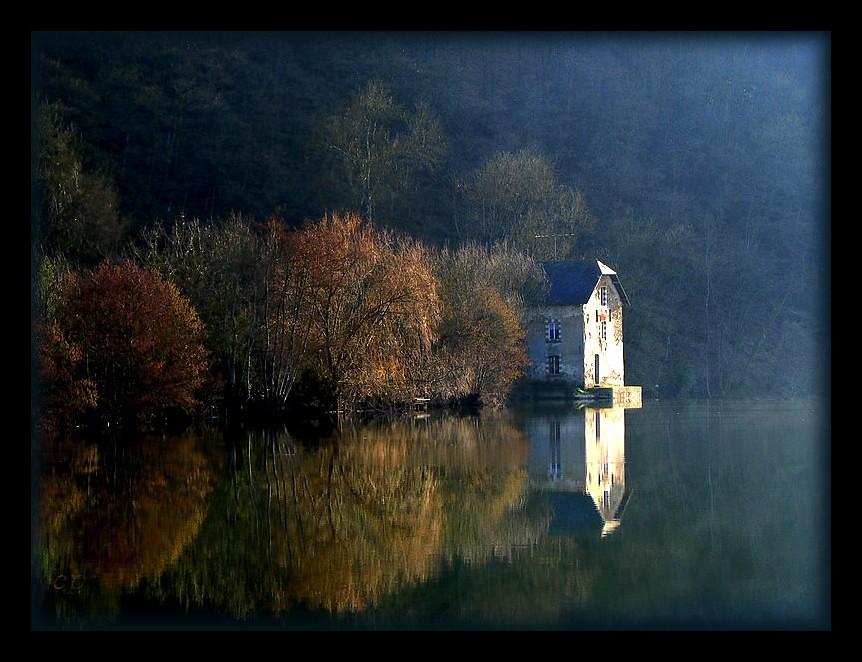 paysage de Mayenne photo by kate053