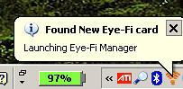 Eye-Fi Detected 1