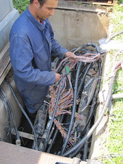 Patching copper lines down to the new NRA