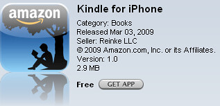 Kindle iPhone