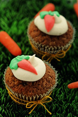 Carrot Cup Cake photo by Mashael Al-Shuwayer