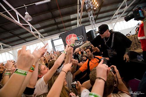 Vanilla Ice @ V Festival 2009, Melbourne