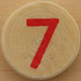 Sudoku Red Number 7