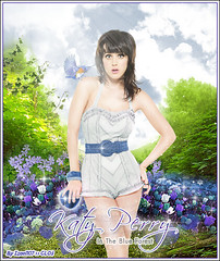 18. Katy Perry ° In The Blue Forest [CLO3] photo by Isael107
