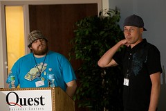 Charlie Baker and Leon Gersing - Erubycon 2009 - Day 1