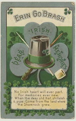 Dear Irish Memories!  St. Patricks Day rish American Postcard 4