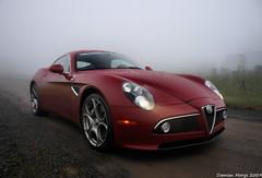 Alfa Romeo 8C... photo by Damian Morys Photography