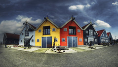 The Colorful Harbor of Zoutkamp photo by Guido Musch