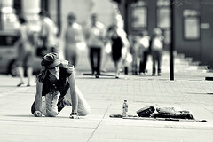 Pavement Artist photo by KY-Photography